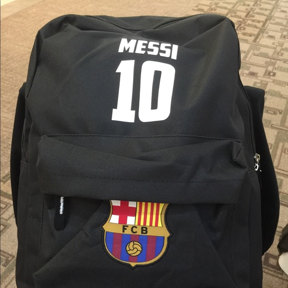 Accessories   Barcelona Messi 10 Backpack Limited Edition   Poshmark bb07d6d61f